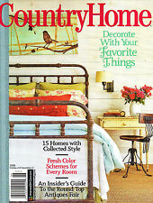 """COUNTRY HOME"" Magazine ~ Decorate with Your Favorite Things ~ Style ~ NEW"