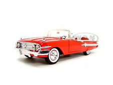 1960 CHEVROLET IMPALA CONVERTIBLE RED 1/18 DIECAST MODEL CAR BY MOTORMAX 73110