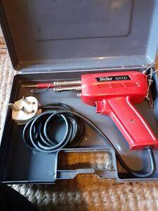 Weller 8200D Soldering Gun in metal case