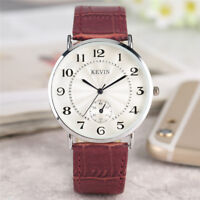 KEVIN Fashion Women's Men's Analog Quartz Wrist Watch Bracelet Gift for Friend