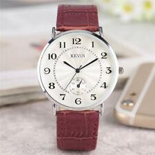 KEVIN Fashion Women's Men's Analog Quartz Wrist Watch Bracelet Gift for Friend