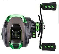 JIADIAONI Fishing Baitcasting Reel - Carbon Steel - Green - Right Handed