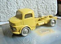*LEGO H0 1:87 Mercedes zugmaschine fahrerhaus für sattelschlepper ca 60er gelb