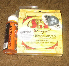 SIT Electric Guitar Strings Light GB 1252 Gift Pack