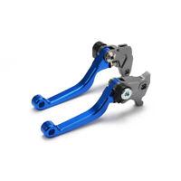 2pcs Brake Clutch Levers For YZ85 SEROW225 TTR250 XT250X TRICKER DT230LANZA Blue