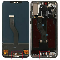 LCD Touch Screen Display Frame Fingerprint Replacement Parts for Huawei P20 Pro