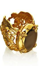 ANNA DELLO RUSSO H&M GOLD BAROQUE BRACELET BANGLE BNWT IN BOX RARE DESIGNER