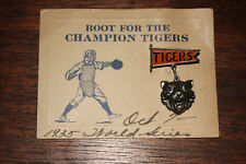 Rare 1935 DETROIT TIGERS / WORLD SERIES baseball souvenir ENAMEL pin NMINT