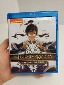 The Legend of Korra: The Complete Series Blu-ray Disc 2016 Box Set Free Ship
