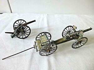 Vintage Simon et Rivollet SR French WW1 Field Gun and Limber plus Field Gun a/f