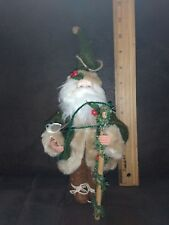 Christmas santa claus doll toy christmas tree ornaments decoration for home (11""