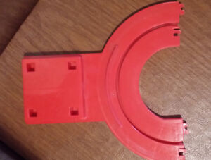 TOMY BIG LOADER TOY 5001 TRACK Piece only REPLACEMENT PART RED HOPPER VINTG 1977