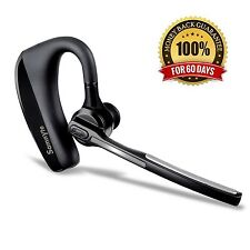 Bluetooth HeadsetSamnyte Hands Free Wireless Earpiece with Microphone and Mut...