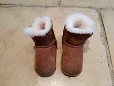 Baby Ugg brown sheepsking Erin boots medium 9 - 15 months