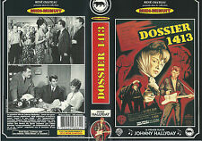 "JOHNNY HALLYDAY: VHS FILM ""DOSSIER 1413"""