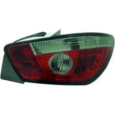 Coppia fari fanali posteriori TUNING SEAT IBIZA 08- 3pt, rosso nero, con LED su
