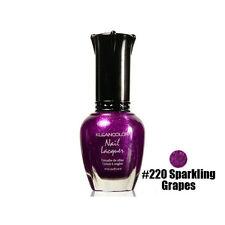 1 Kleancolor Nail Polish Lacquer #220 Sparkling Grapes Manicure