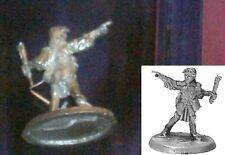 Ral Partha 03-143 Female Wizard 25mm Miniature Sorceress Mage Adventurer NIB 1