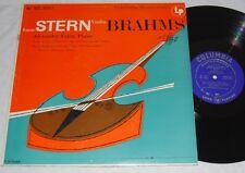 ISAAC STERN Brahms Sonata ZAKIN COLUMBIA ML 4913 LP RARE!! VG++/NM