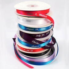 "Large Roll 5/8"" Wide Personalized Wedding Favor Ribbon"