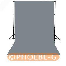 Photography Chromakey GREY  Backdrop 1.8m x 2.8m 100% Cotton Muslin background