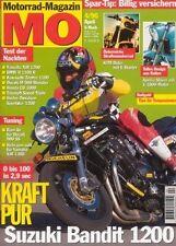 MO9604 + im Nakes Bike Special: SUZUKI GSF 1200 + YAMAH  XJR 1200 + MO 4/1996