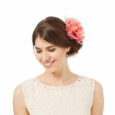 Feather Flower Clip Costume Hair & Head Jewellery