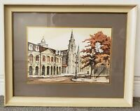 Rolland Golden - Jackson Square Print (New Orleans) (20th Century)