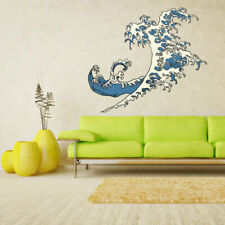 Full Color Wall Decal Sticker Wave Ocean Sea (Col189)