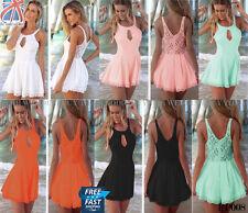 Sexy Women Celeb Lace Playsuit Ladies Dress Jumpsuit Party Evening Summer PP008