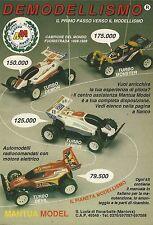 X7052 Mantua Model - Automodelli radiocomandati - Pubblicità 1990 - Advertising