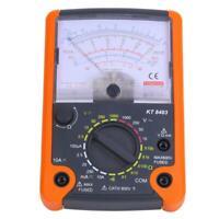 Multimètre pointeur KT8403 pour testeur de résistance de courant de tension DC