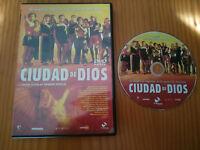 CIUDAD DE DIOS DVD FERNANDO MEIRELLES ESPAÑOL PORTUGUES