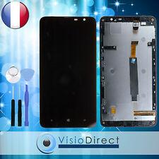 Ecran complet pour Nokia Lumia 1320 noir vitre tactile + LCD sur châssis +Outils