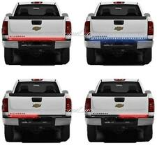 "60"" Red & White LED Tailgate Tail Lights Back-Up Light Bar Strip Pick-Up Truck"