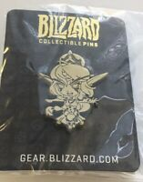 Blizzcon Tyrande Cute But Deadly World of Warcraft  GOLD pin Blizzard Rare New