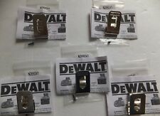 5 PACK Genuine DeWALT Belt Clip Hook  20V Drill Driver N268241 N169778