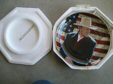 Franklin Mint John Wayne Cowboy Legend Limited Edition Collector Plate