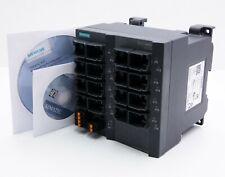 Siemens scalance x216 6gk5216-0ba00-2aa3 6gk5 216-0ba00-2aa3 versione: 15-used -