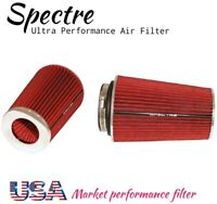 """Spectre American Universal air filter LARGE MASSIVE KN -S HUGE BHP 3"""" 3.5"""" & 4"""""""