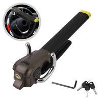 Car Steering Wheel Lock Car Foldable Anti Theft Airbag Security Lock With Keys