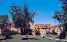 Moorhead Minnesota~Concordia College~Fjelstad Hall~Girls Dorm~1950s Postcard
