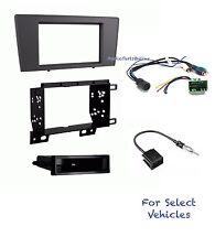 Car Stereo Radio Dash Kit Combo for 2001 2002 2003 2004 Volvo S60 XC70 V70 w/Amp
