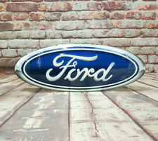 Ford Oval Embossed Aluminum Sign