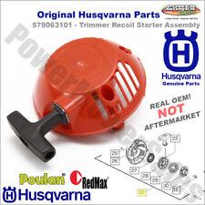 579063101 - Recoil Starter Assembly - Original Husqvarna - 3 Bolt