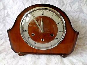 "VINTAGE SMITHS ""ALEXANDER CLARKE"" 4/4 WESTMINSTER CHIME CLOCK. Circa 1953- 59"