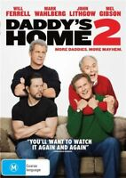 Daddy's Home 2 DVD NEW Region 4 Mel Gibson Lithgow Will Ferrell