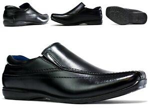MEN NEW SLIP ON- Driving Flat Moccasins Office/Work Smart Men Shoes UK Size