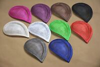 17*11.5cm Teardrop Sinamay Hat fascinator Base millinery making material B064