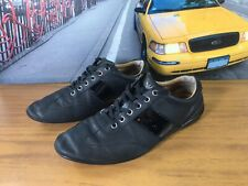 "Mens Armani ""Nero""  Trainers UK SIZE 8"